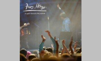 Izdots 'Jauns mēness' 25 gadu jubilejas koncerta kompaktdisks