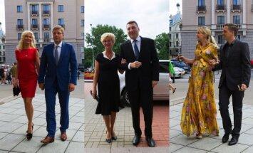 Foto: Kultūras gardēži dodas baudīt Barišņikova monoizrādi