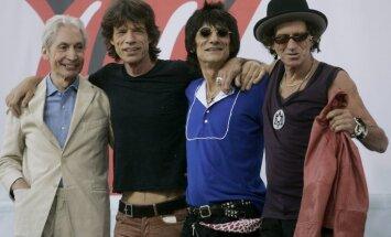 Leģendārie 'The Rolling Stones' sākuši darbu pie jauna albuma