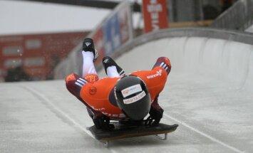 Martins Dukurs ar vienu braucienu sesto reizi kļūst par Eiropas čempionu