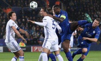 Anglijas čempioni 'Leicester City' turpina uzvarēt Čempionu līgā