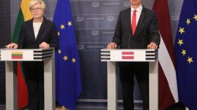 Lietuvas premjerministre: Latvija un Lietuva nekonkurē baltkrievu uzņēmumu piesaistīšanā