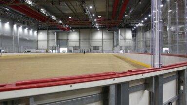 Pasaules hokeja čempionāta vajadzībām pilnībā nodotas abas arēnas