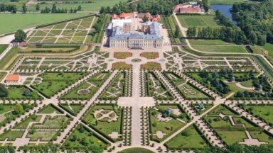 Сад Рундальского замка номинирован на престижную премию European Garden Award 2021