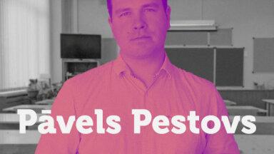 Ķīmijas skolotājs Pāvels Pestovs: 'Pasaule nav izgudrojusi neko labāku par izglītību'