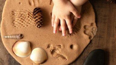 Pašu veidota rotaļlieta bērnu aizrauj vairāk, nekā veikalā iegādātā
