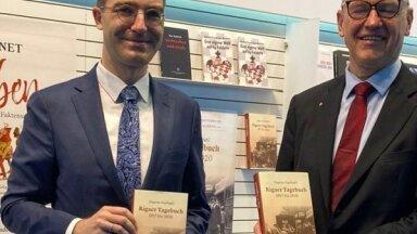 Frankfurtē atvērta vāciski izdotā 'Dagmāras Kopštālas dienasgrāmata'