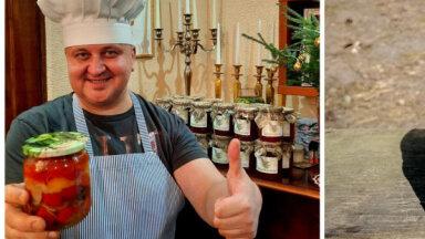 Маринады от оперного певца: в гостях на кухне у Сергея Егерса