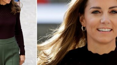 Aktuālo tendenču paraugstunda: hercogiene Katrīna demonstrē perfektu rudens stilu