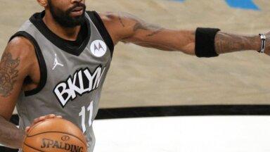 NBA un cīņa pret Covid-19: 'Nets' zvaigzne Ērvings atsakās atklāt vakcinācijas statusu