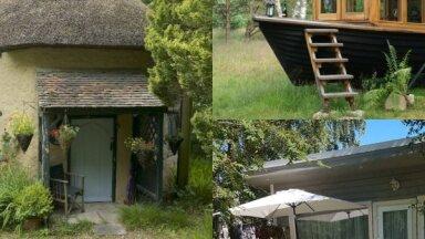 Stāstu izlase: mazizmēra dzīvojamās mājiņas, kuras šarmē ar omulību