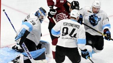 KHL spēle: Rīgas 'Dinamo' - Minskas 'Dinamo'. Teksta tiešraide