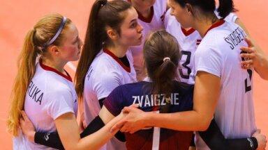 Latvijas sieviešu volejbola izlase uzsāk EČ kvalifikācijas turnīru Daugavpilī