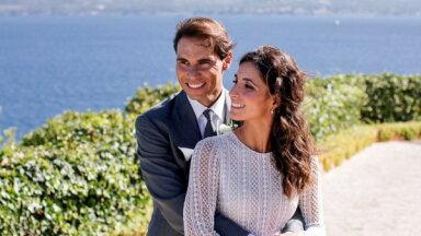 Foto: Rafaels Nadals Maljorkā apprecējies ar ilggadējo draudzeni
