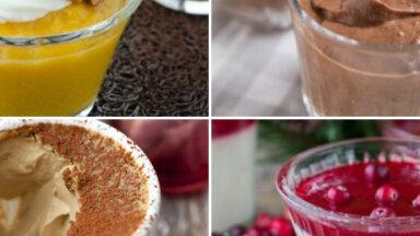 Vienkārši saldie krēmi bez eksotiskām sastāvdaļām: 30 kārdinošas receptes