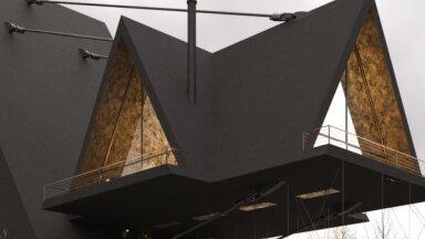 ФОТО. Только б не упасть! Архитектор создал дом прямо над обрывом