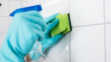 Lai allaž spodras: padomi, kā efektīvi iztīrīt flīžu šuves