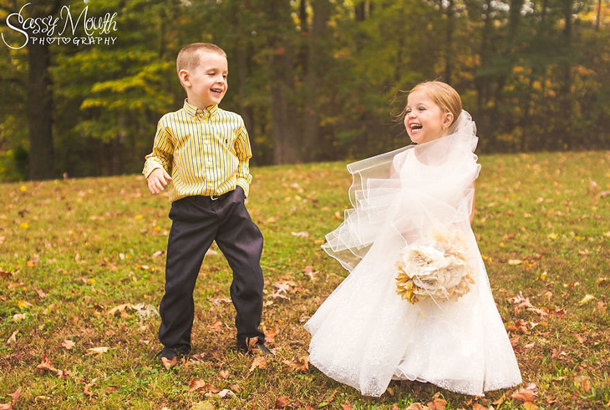 """ФОТО. Пятилетняя София хотела """"выйти замуж"""" перед операцией на сердце. Мечты сбываются!"""