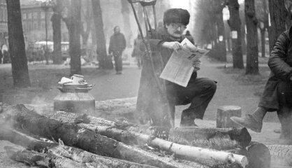 1991. gads: Barikāžu laiks, Latvija deklarē neatkarību, sabrūk PSRS