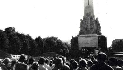 """1987 год: """"Родной язык"""", демонстрации 23 августа, """"Симпсоны"""""""