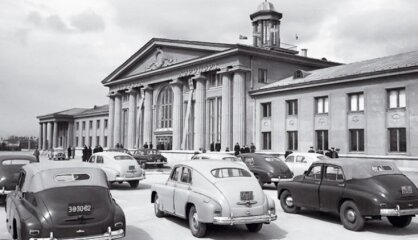 """1954 год: Мир читает """"Властелина колец"""", в Риге начинает работать телевидение"""