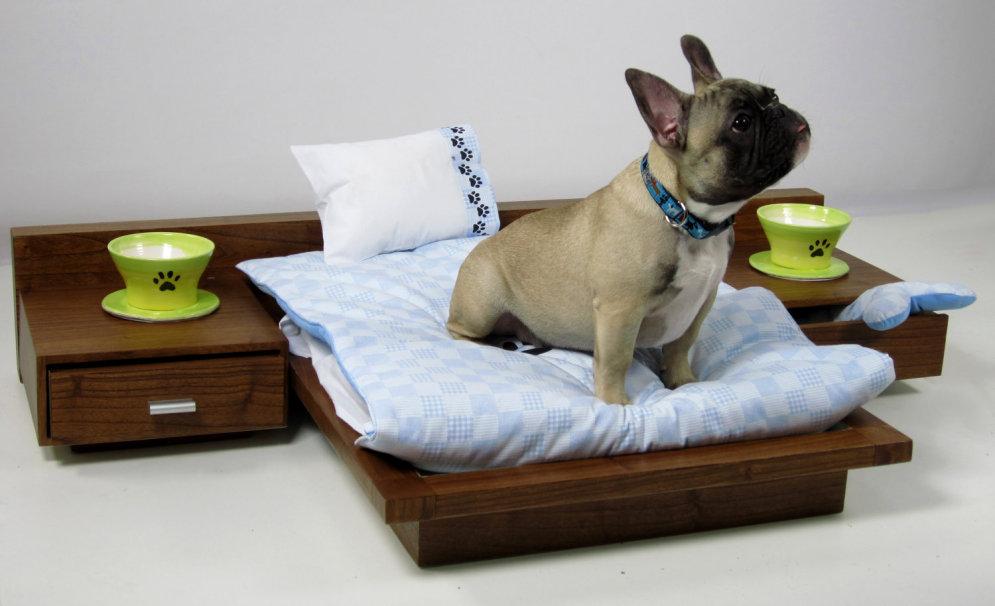 Как сделать собачке спальное место