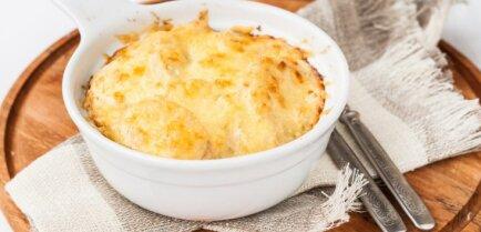 Как приготовить постную картофельную запеканку