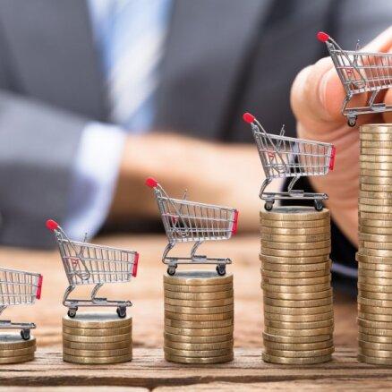 Vidējais patēriņa cenu līmenis gada laikā palielinājies par 3,7 %