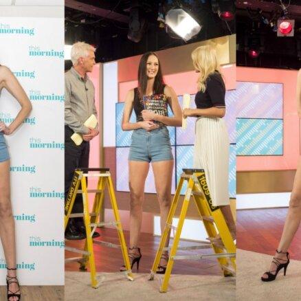 Sieviete ar pasaulē garākajām kājām – Jekaterina no Krievijas
