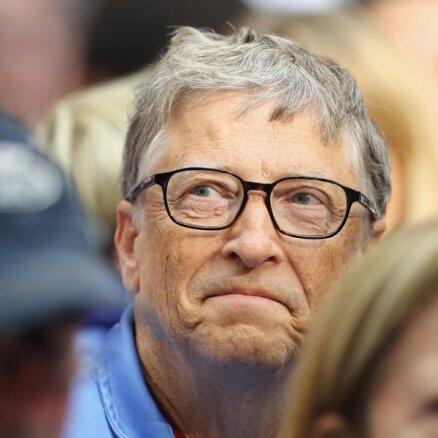 Bils Geitss noslīdējis uz 5. vietu 'Forbes' bagātnieku sarakstā