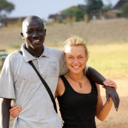 Repšes meita Ugandā palīdz afrikāņiem
