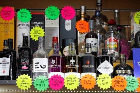 Опрос: эстонцы за раз тратят на покупку алкоголя в Латвии 100-250 евро