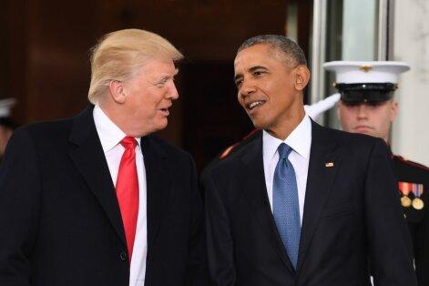 Трамп обвинил Обаму в организации утечек в СМИ