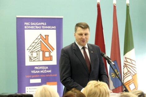 Вейонис в Даугавпилсе пообещал стимулирующую предпринимательство налоговую политику (ФОТО)