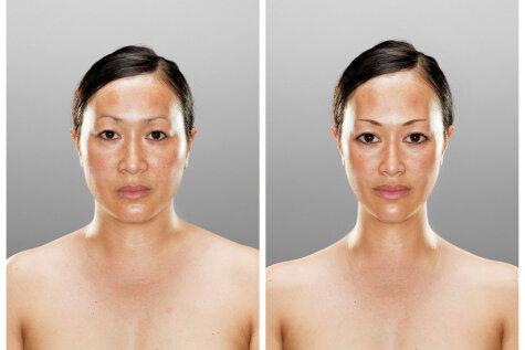 Fotogrāfs skenē smadzenes, lai iegūtu ideālo izskatu