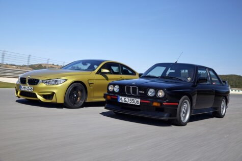 Драйверские BMW M3 - 29 лет эволюции