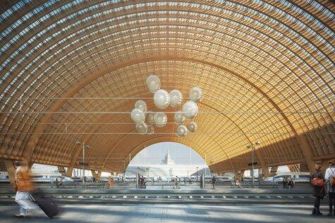 Rail Baltica сделает Риге красиво: 60
