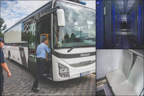 Смотри, в каком модном автобусе за €290 тыс. будут возить зэков по Латвии!