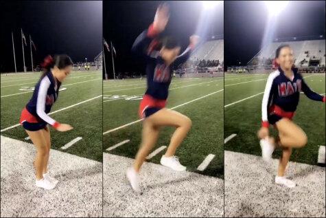 ВИДЕО: Люди ломают ноги, пытаясь повторить трюк с
