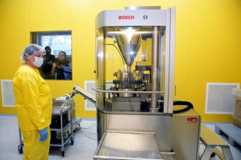 Olainfarm запустила новое производство за 9,6 млн евро (и вот как оно выглядит)