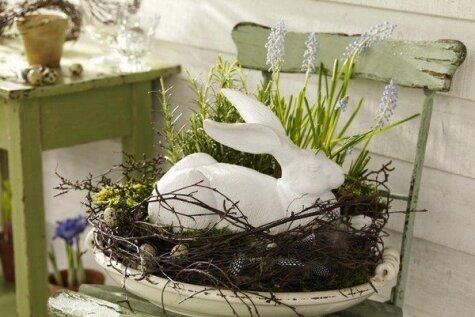 Dabas veltes Lieldienu galda un telpu dekorēšanai