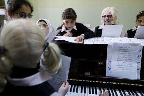 Ar mūzikas palīdzību tiek izglītoti vājredzīgi un akli bērni