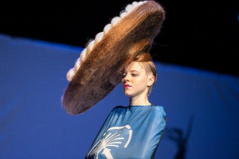 Hair Fusion Show в Риге: дикие прически в помощь детской больнице