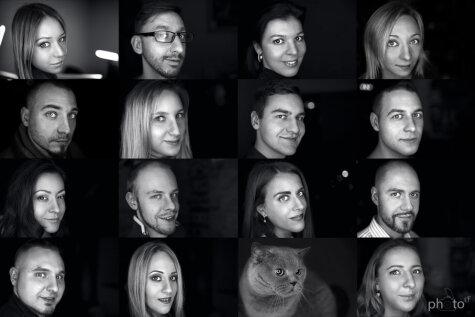 16 обычных латвийцев в необычном фотопроекте
