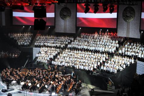 В Риге началась Всемирная Олимпиада хоров: лучшие фотографии