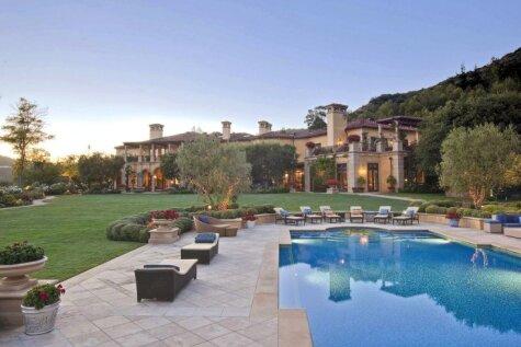 Kā izskatās Eltona Džona māja, kas izmaksāja 32 miljonus