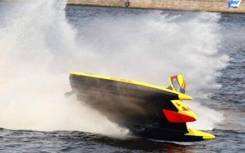 аварии гоночных лодок
