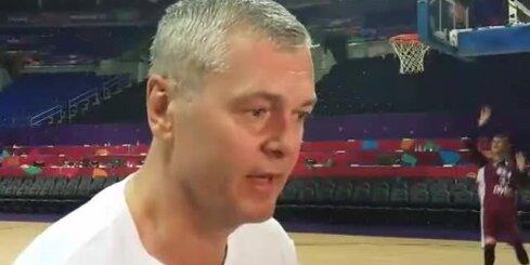 Ainara Bagatska komentārs pirms spēles ar Turciju