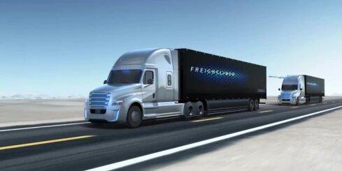 'Freightliner Inspiration' – kravas auto ar bezpilota sistēmu