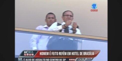 Brazīlijā viesnīcā sagrābj ķīlnieku